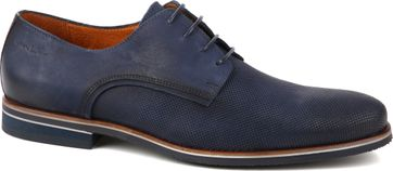 Van Lier Dress Shoes Nubuck Dark Blue