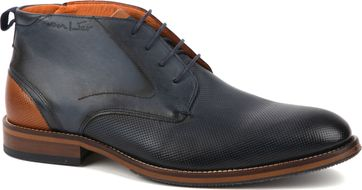 Van Lier Dress Shoes Nubuck Navy