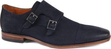 Van Lier Shoe Double Monkstrap Dark Blue