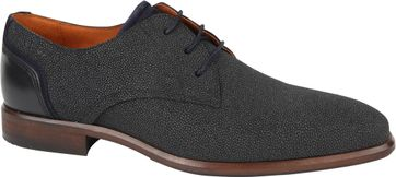 Van Lier Shoes Berlin Suede Navy