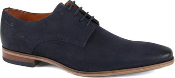 Van Lier Shoes Leather Dark Blue