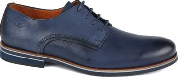 Van Lier Shoes Lether Dark Blue