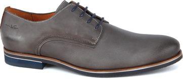 Van Lier Shoes Nubuck Grey