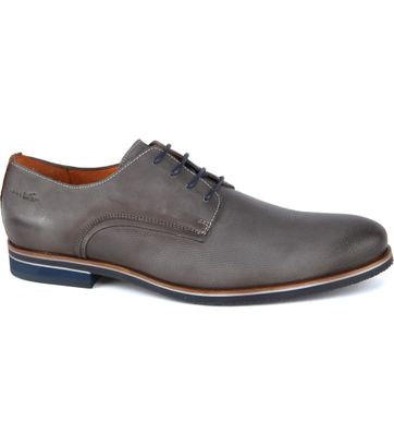 Van Lier Shoes Nubuck Grey