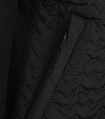 Detail Vanguard Bicker Jacket Zwart