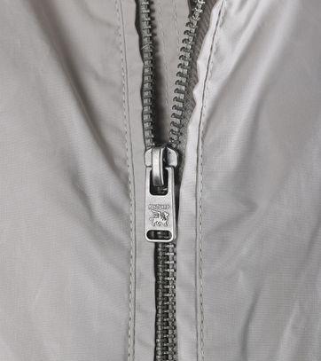 Detail Vanguard Biker Jacket Zomerjas Off White