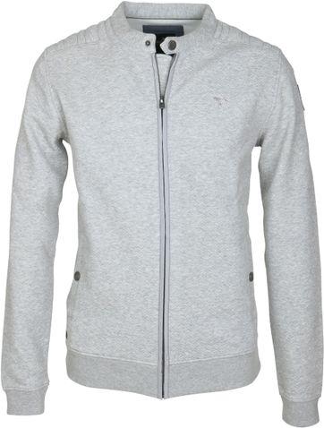 Vanguard Cardigan Grey