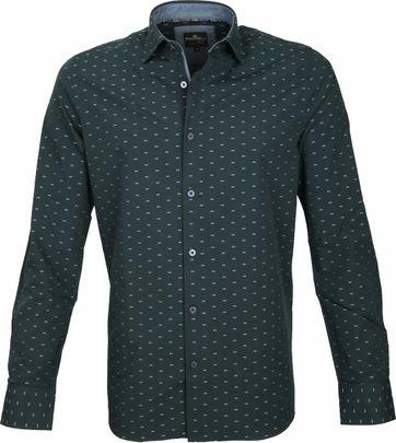 Vanguard Casual Overhemd Groen