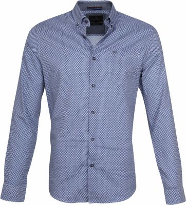 Vanguard Casual Shirt Print Navy