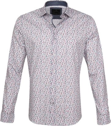 Vanguard Casual Shirt Print Red