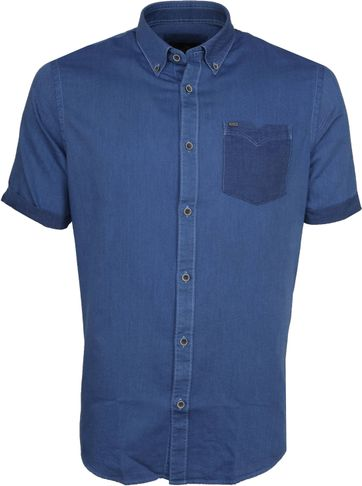 Vanguard Casual Shirt SS Wood Ride