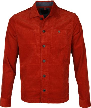 Vanguard Corduroy Overshirt Rust