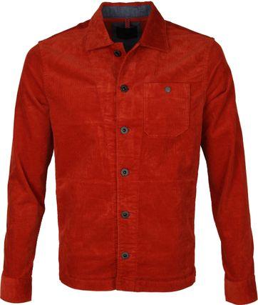 Vanguard Corduroy Overshirt Rust