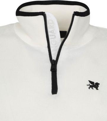 Vanguard Half Zip Pullover White