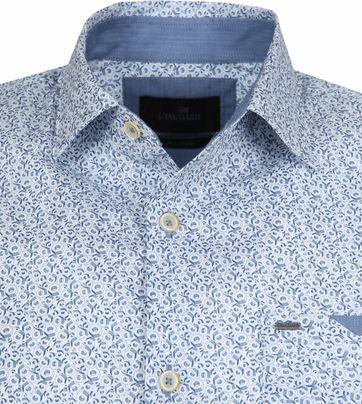 Vanguard Hemd Dessin Blauw