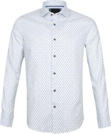 Vanguard Hemd Muster Weis