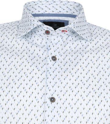 Vanguard Hemd Muster Weiß