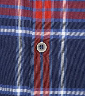 Vanguard Hemd Ruit Blauw