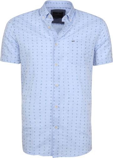 Vanguard Hemd SS Summerlin Blau
