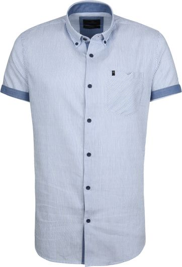 Vanguard Hemd Streifen Blau