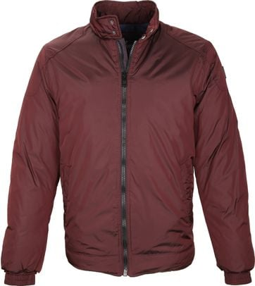 Vanguard Jacke Custom Racer Bordeaux