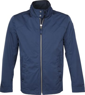 Vanguard Jacket Custom Racer Navy