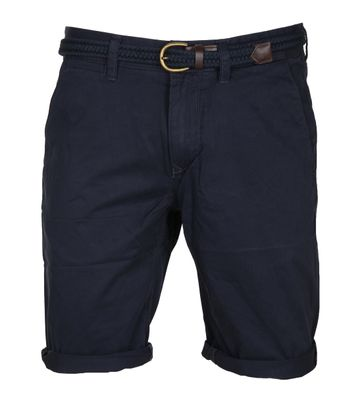 Vanguard Korte Broek Twill Navy
