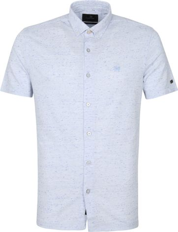 Vanguard Korte Mouw Overhemd Lichtblauw