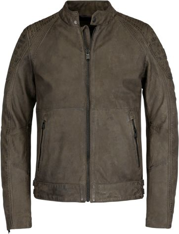 Vanguard Leather Bikebolt 2.0 Jacket Brown
