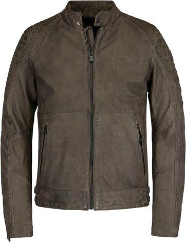 Vanguard Leather Bikebolt 2.0 Jacket Brown