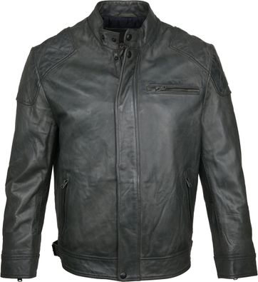 Vanguard Leather Jacket Beluga