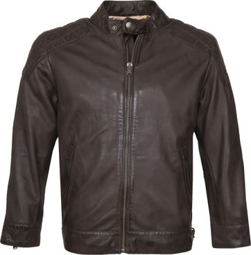 Vanguard Leather Jacket Brown