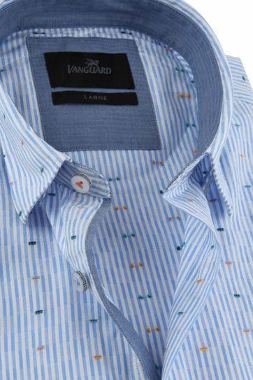 Vanguard Overhemd Blauw Strepen