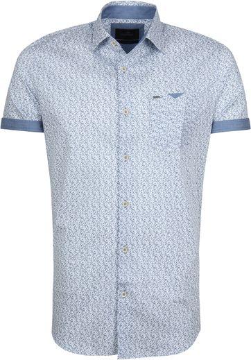 Vanguard Overhemd Dessin Blauw