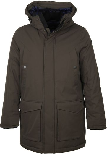 Vanguard Parka Coat Wheelride Brown
