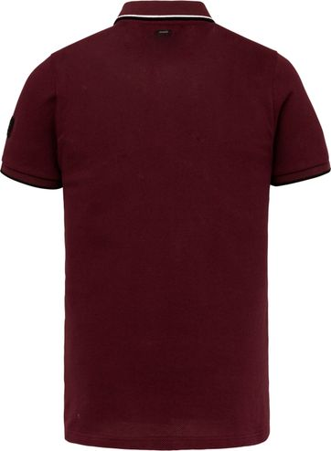 Vanguard Polo Bordeaux Rood