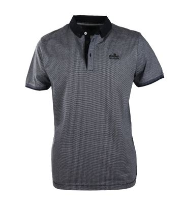 Vanguard Polo Donkerblauw Mini Ruit