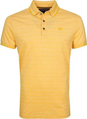 Vanguard Polo Gelb Streifen