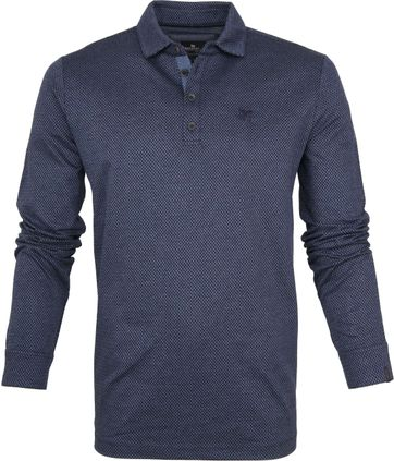 Vanguard Polo LS Pique Two Tone