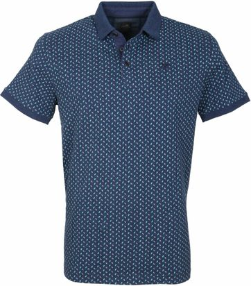 Vanguard Polo Navy Patroon