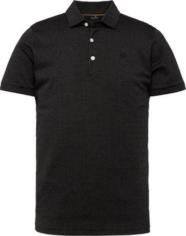Vanguard Polo Shirt Dots Black