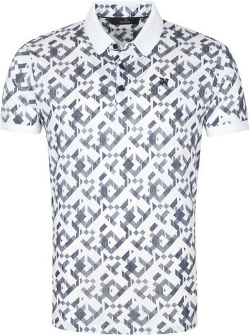 Vanguard Polo Shirt Graphic White