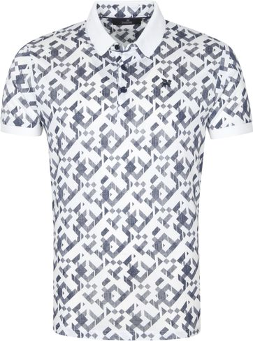 Vanguard Polo Shirt Graphic White