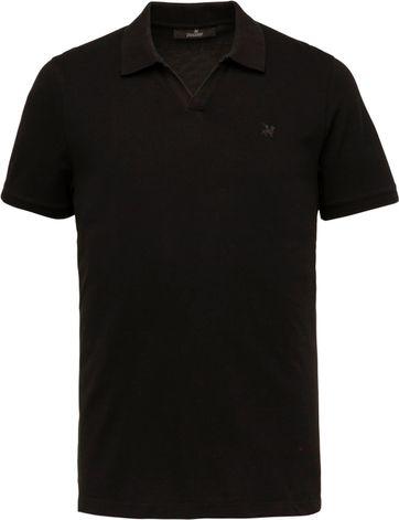 Vanguard Polo Shirt Stretch Black