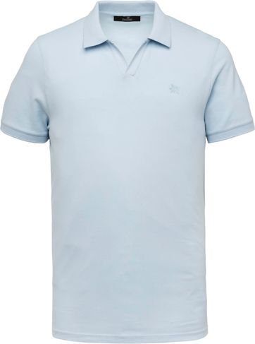 Vanguard Polo Shirt Stretch Light Blue
