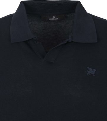 Vanguard Polo Stretch Donkerblauw