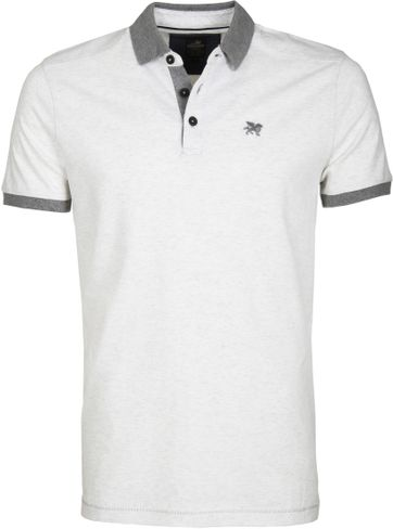Vanguard Polo Two Tone Wit