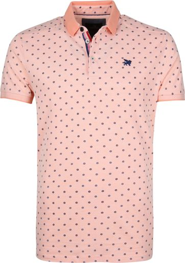 Vanguard Poloshirt Design Peach