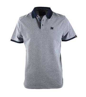 Vanguard Poloshirt Donkerblauw Pique