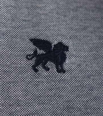 Detail Vanguard Poloshirt Donkerblauw Pique